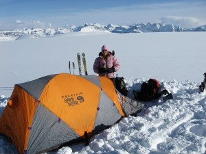 4 icefield camping